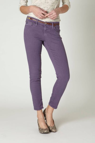 NEW ADRIANO GOLDSCHMIED STEVIE ANKLE MAUVE SKINNY JEANS SIZE 30