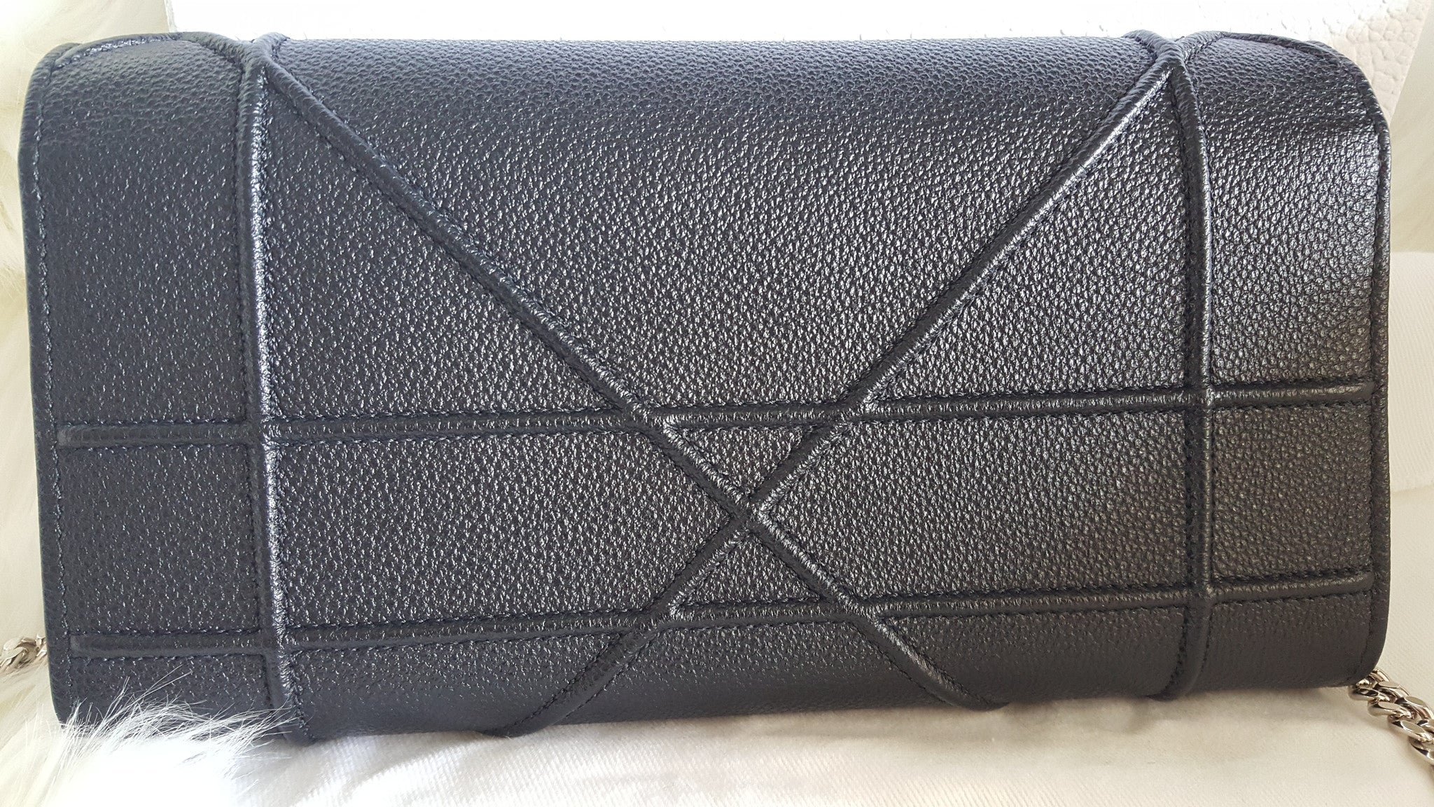 CHRISTIAN DIOR DIORAMA CROISIERE WALLET ON CHAIN