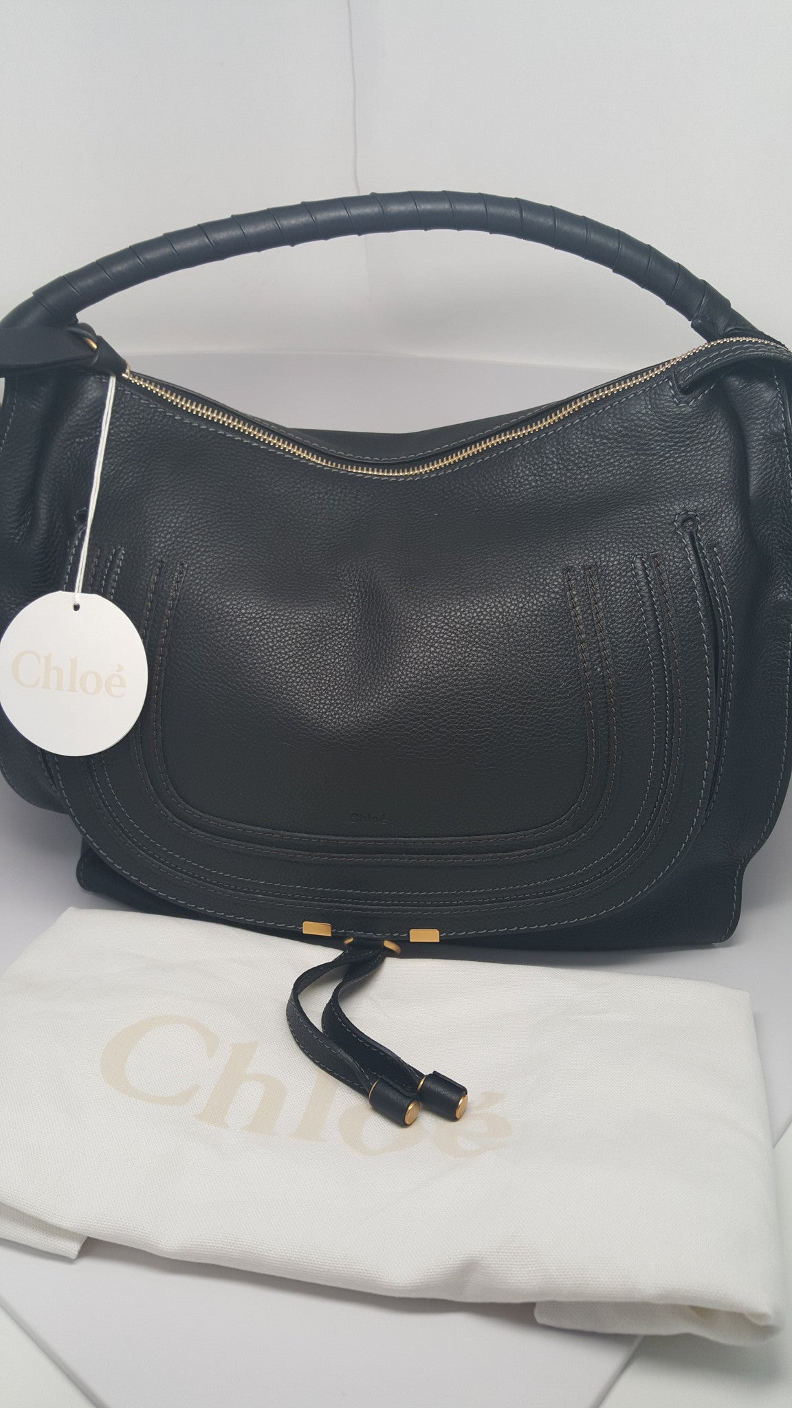 Chloé MARCIE LARGE LEATHER HOBO
