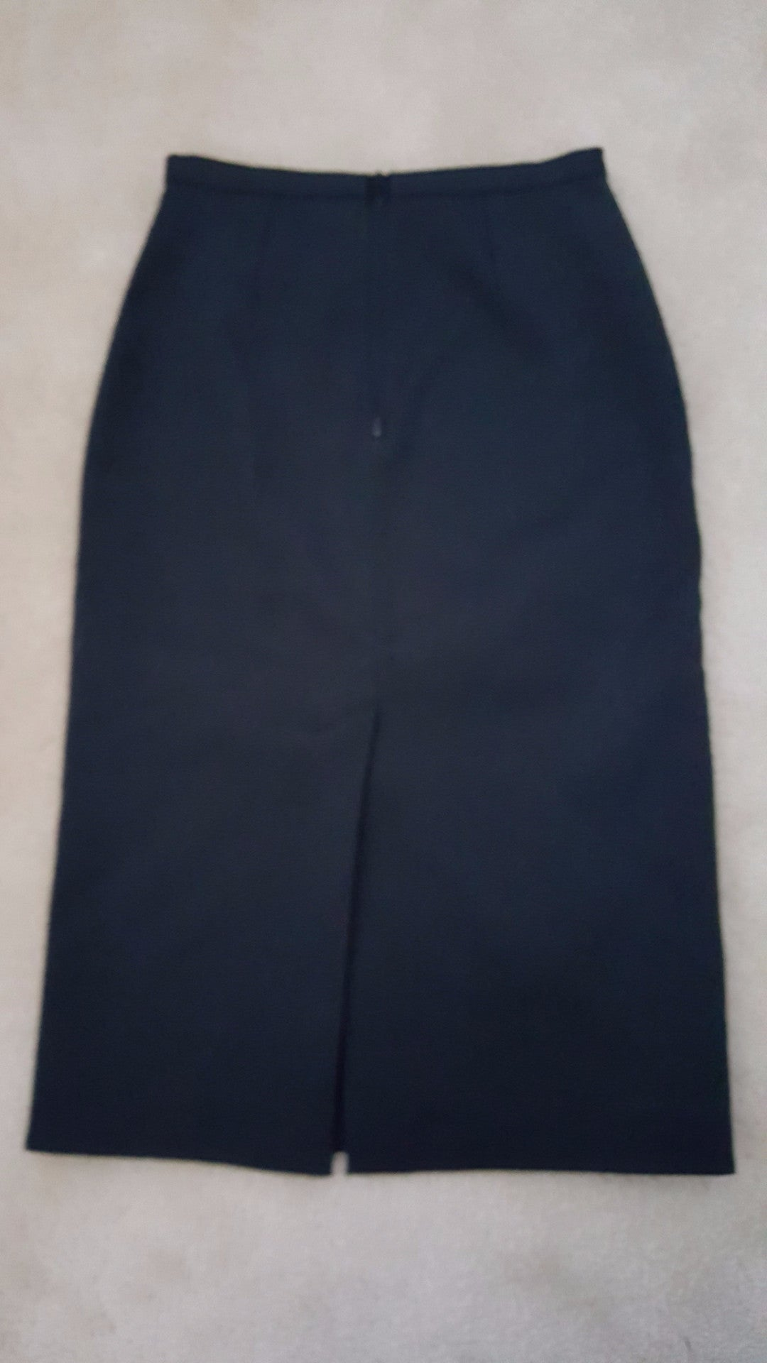 BURBERRY PRORSUM COTTON EMBELLISHED PENCIL SKIRT - SIZE 36