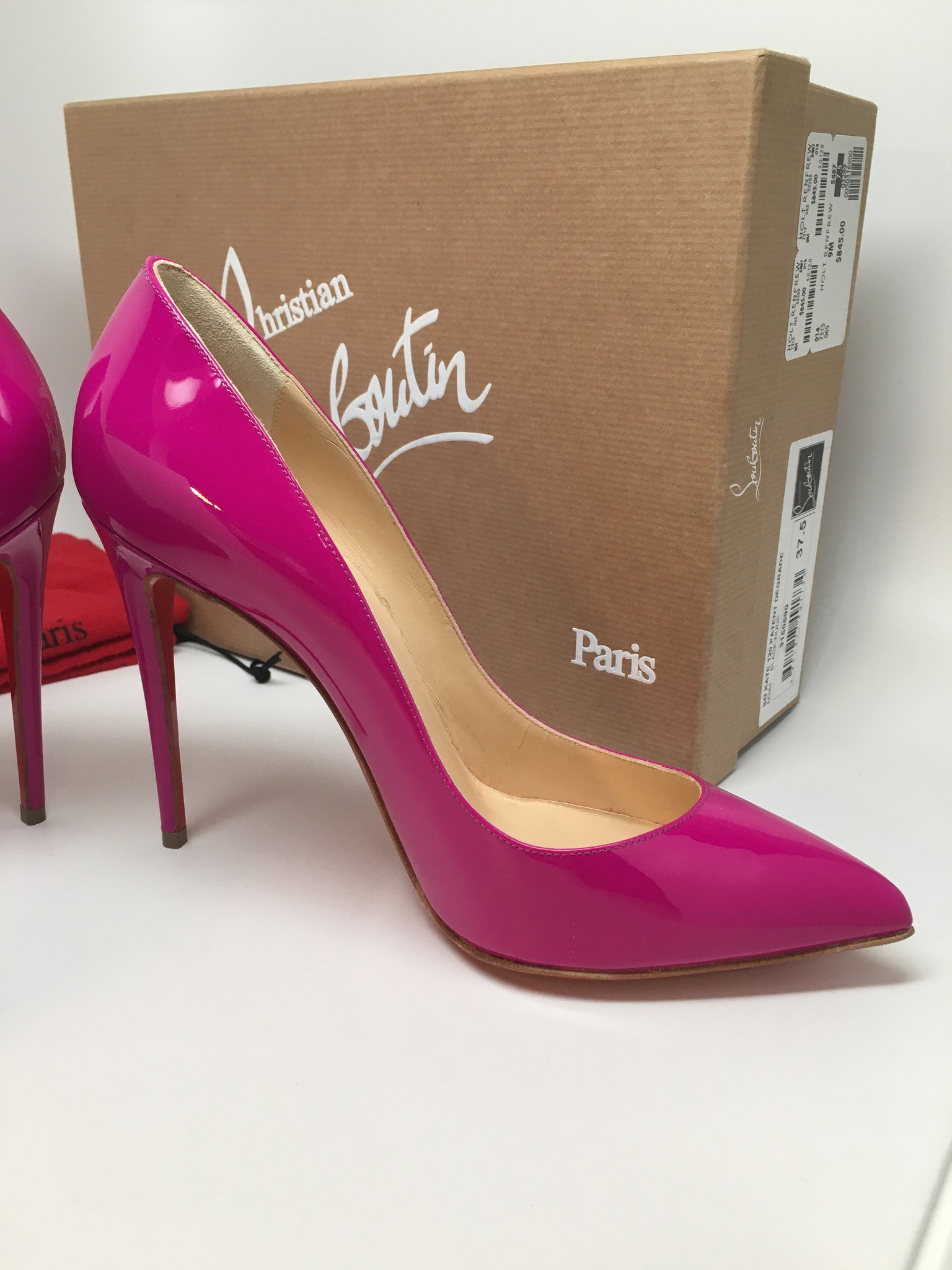 CHRISTIAN LOUBOUTIN SO KATE - PURPLE - SIZE 37.5