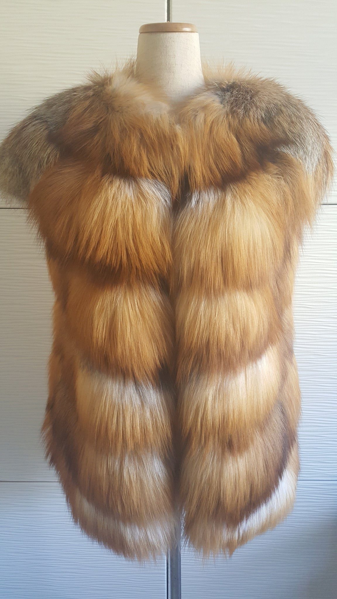 JIGUEREN FUR VEST - SMALL
