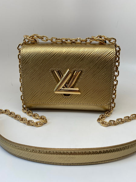 LOUIS VUITTON TWIST MINI IN GOLD