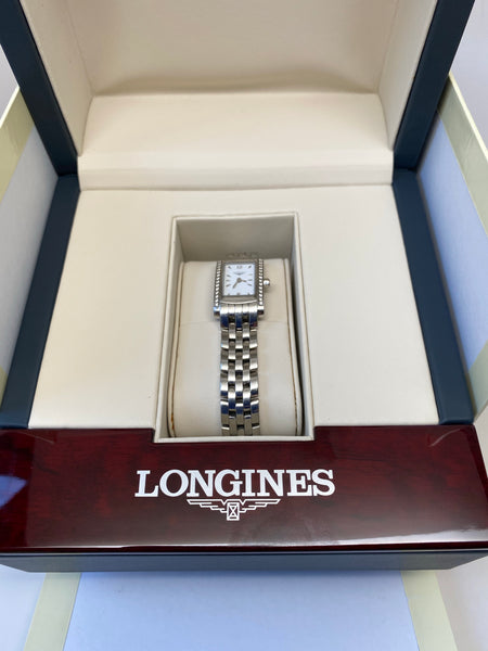 LONGINES DOLCEVITA SWISS WATCH WITH DIAMONDS