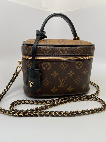 LOUIS VUITTON REVERSE MONOGRAM VANITY PM