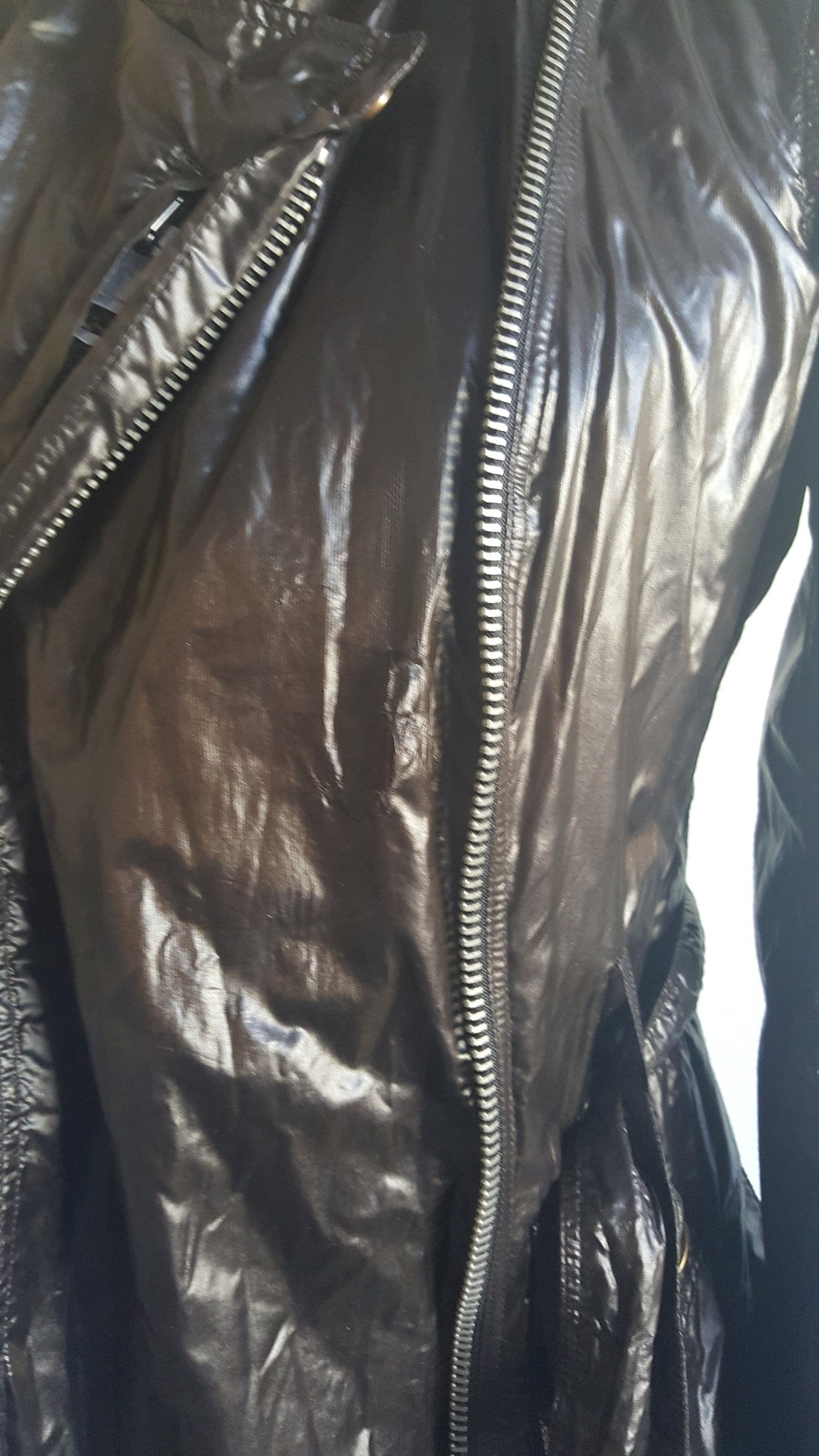 BURBERRY BRIT RAIN TRENCH COAT - SIZE US 6