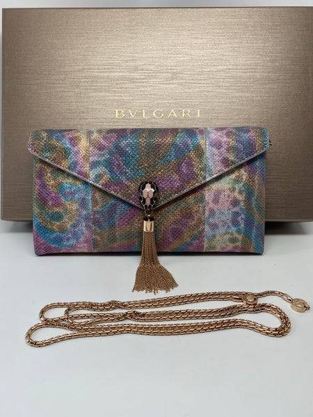 BVLGARI COCKTAIL CLUTCH - MULTICOLOR