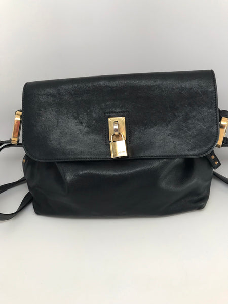MARC JACOBS CROSSBODY LEATHER BAG - MEDIUM SIZE