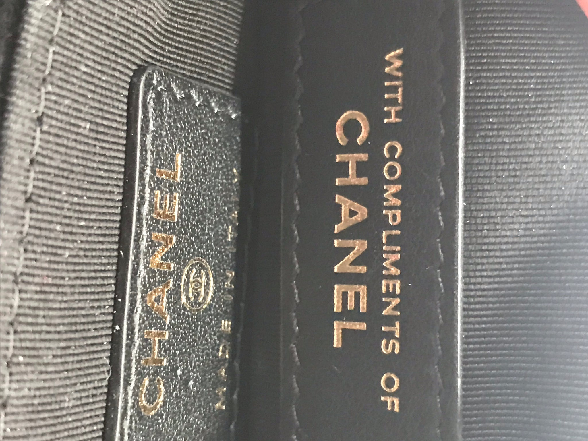 CHANEL VELVET C-O-CASE WALLET POUCH WITH GOLD CC METAL STUDS