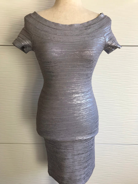 HERVE LEGER ALEKSANDRA DRESS - SIZE XS