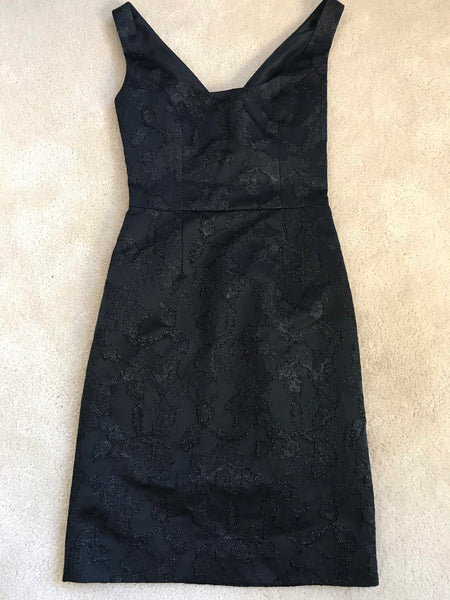 VALENTINO ROMA PARTY DRESS - BLACK - SIZE 2 / 38