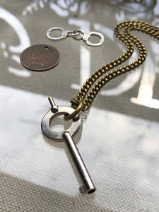 """Key Free"" 1888 Design Necklace"