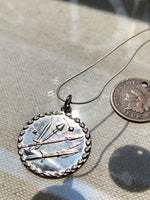 """Space Race"" 1888 Design Necklace"