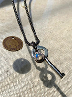 """1.3 Seconds to reach us"" 1888 Design Necklace"