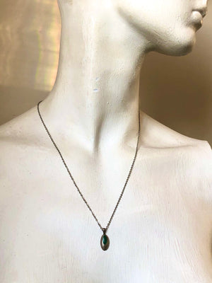 """Eyes Like Emeralds"" 1888 Design Necklace"