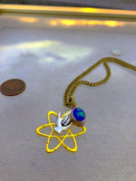 """Zero Point Energy"" 1888 Design Necklace"