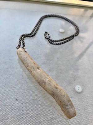 """The Breaking Point Of Stone"" 1888 Design Necklace"