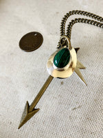 """Green Flash"" 1888 Design Necklace"