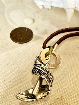 """Twisted Freedom"" 1888 Design Necklace"