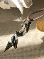 """Flight Of The Arrow"" 1888 Design Necklace"