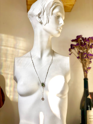 """Peridotlia"" 1888 Design Necklace"