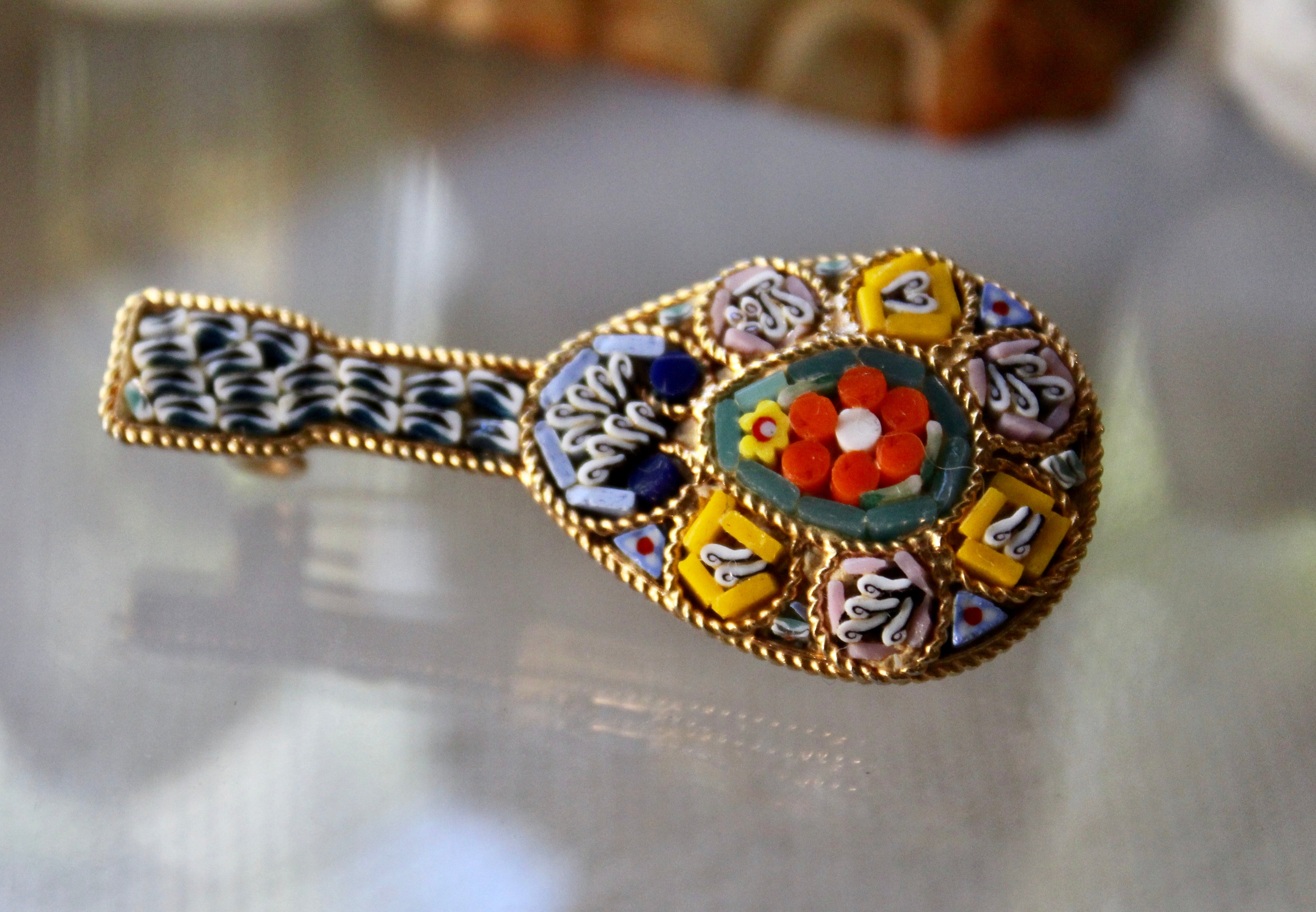 "1888 Design Find Brooch ""All The Tiny Pieces"""