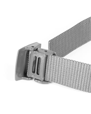 ZIMEGO Mens Adjustable Nylon Strap Military Tactical Web Belt Plastic Buckle