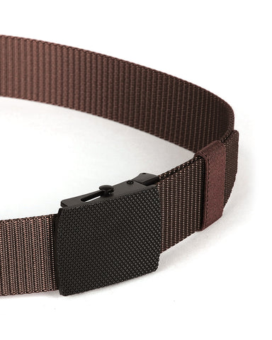 ZIMEGO Mens Adjustable Nylon Strap Military Tactical Web Belt Metal Buckle