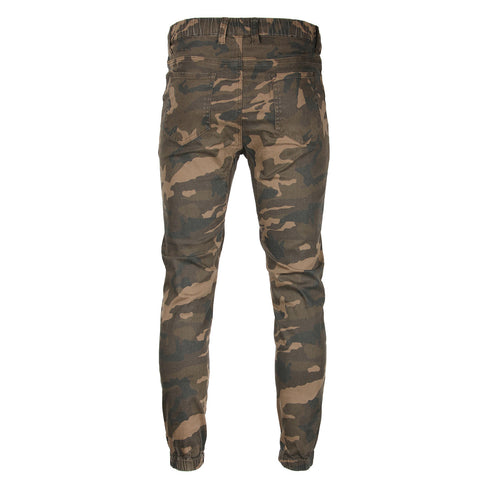 Victorious by ZIMEGO - Mens Twill Jogger Pants - CAMO