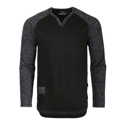 Free 3-day Shipping - ZIMEGO Mens Long Sleeve Pullover Quarter Zip Mock Neck Polo Sweater