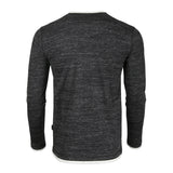 ZIMEGO Men's Long Sleeve Double Layered Y-Neck Fashion Henley - ZGLS247 - DREAM SUPPLY by ZIMEGO