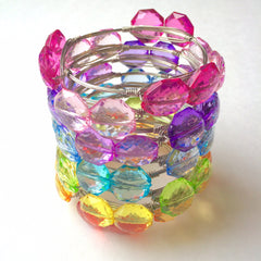 SALE! 10 Color - 60 Beads - 21mm Bead Grab Bag - LIMITED QUANTITIES! - Swoon & Shimmer - 3