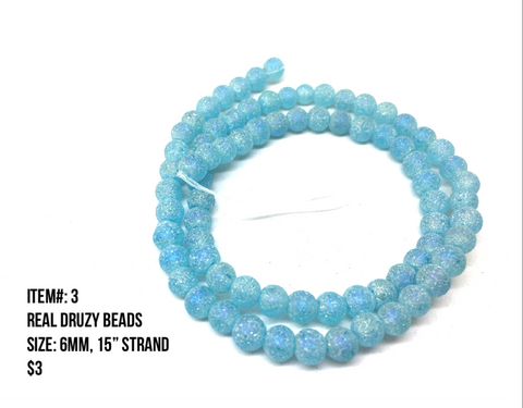 Sale Item #3 Real Druzy Strands