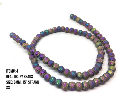 Sale Item #4 Real Druzy Strands