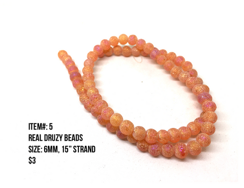 Sale Item #5 Real Druzy Strands