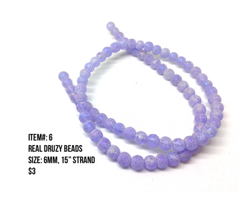 Sale Item #6 Real Druzy Strands