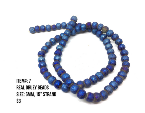 Sale Item #7 Real Druzy Strands