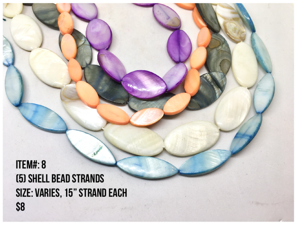 Sale Item #8 Shell Bead Strands