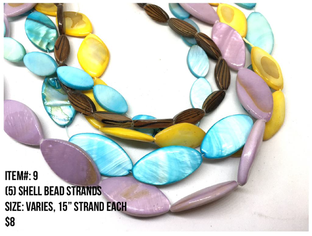 Sale Item #9 Shell Bead Strands