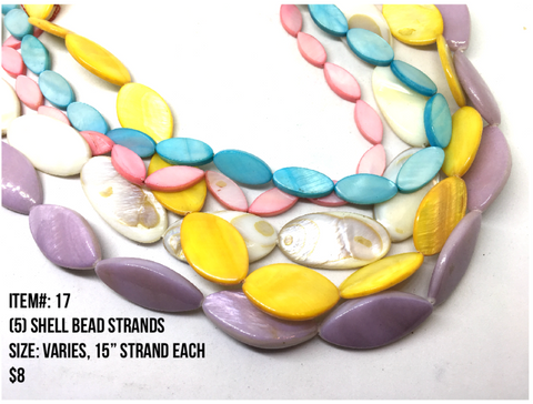 Sale Item #17 Shell Bead Strands