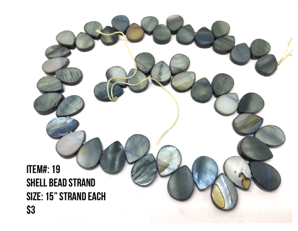 Sale Item #19 Shell Bead Strands