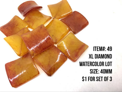 Sale Item #49 XL Diamond Watercolor Lot