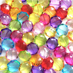 SALE! 10 Color - 60 Beads - 21mm Bead Grab Bag - LIMITED QUANTITIES! - Swoon & Shimmer - 2