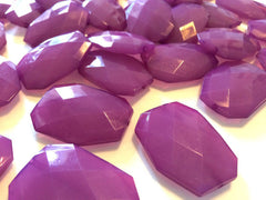 XL 39mm plum Purple Beads, Chunky Acrylic Beads, Jewelry Making, Necklaces, Bracelets, Earrings Making, purple Statement Necklaces