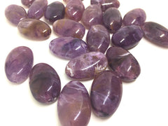 Purple Beads, 32mm Oval Gemstone Beads, The acrylic chunky craft supplies for wire bangle or jewelry making, statement necklace, round colorful beads, The Beach Collection,