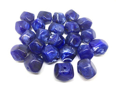 Blue Beads, Dark Blue, The Jet-Setter Collection, acrylic beads, 22mm beads, Colorful beads, Multi-Color Beads, Gemstones, Chunky Beads, Beaded Jewelry