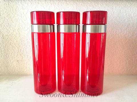 Acrylic Blank Tumbler Water Bottle, 28 Ounce, BPA FREE, Red Water Bottle, tumbler blanks, water bottle blanks, blank cup, iced coffee cup