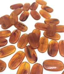 Amber Beads, The Surf Collection, 30mm Beads, big acrylic beads, multi color jewelry, bracelet necklace earrings, jewelry making, acrylic bangle beads