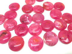 Pink Beads, The Eclipse Collection, 23mm Beads, circular acrylic beads, bracelet necklace earrings, jewelry making, bangle