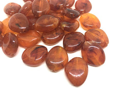 Amber Brown Beads, The Princess Collection, 25mm Beads, big acrylic beads, bracelet necklace earrings, jewelry making, amber jewelry necklac